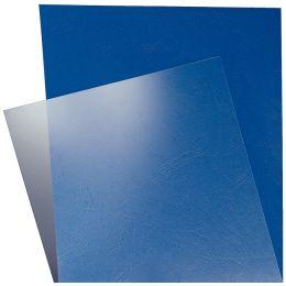 LEITZ Deckblatt, DIN A4, aus PVC, glasklar, 0,15 mm
