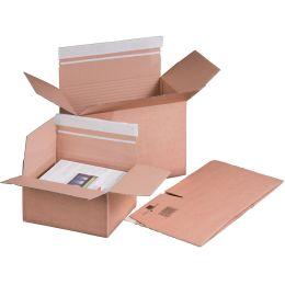 smartboxpro Blitzbodenkarton, DIN A4, SK, braun