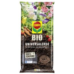 COMPO BIO Universal-Erde torffrei, 40 Liter
