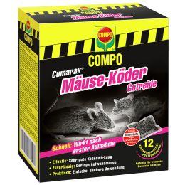 COMPO CUMARAX Mäuse-Köderflocken + Köderbox