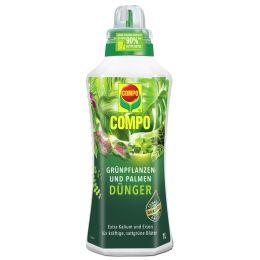 COMPO Grünpflanzen- und Palmendünger, 1 Liter