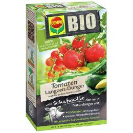 COMPO BIO Tomaten Langzeit-Dünger mit Schafwolle, 750 g