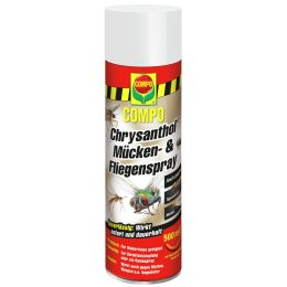 COMPO Chrysanthol Fliegen-Spray, 500 ml Spraydose