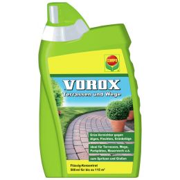 COMPO VOROX Terrassen und Wege, 500 ml Flasche