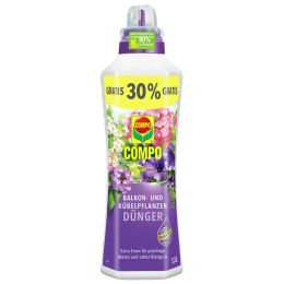 COMPO Balkon- und Kübelpflanzendünger, 1,3 Liter
