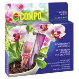 COMPO Orchideen Aufbaukur, 5 x 30 ml