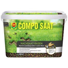 COMPO SAAT Nachsaat-Rasen, 2 kg Eimer für 100 qm