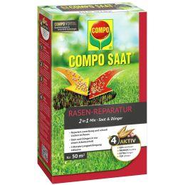 COMPO Rasen-Reparatur-Mix, 1,2 kg für 50 qm