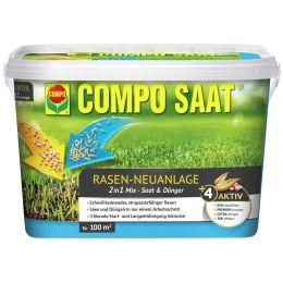 COMPO Rasen-Neuanlage-Mix, 2,2 kg für 100 qm