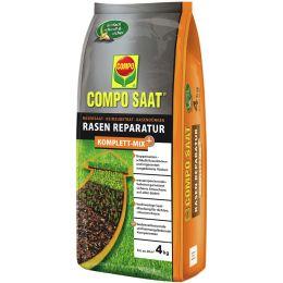 COMPO SAAT Rasen-Reparatur Komplett Mix+, 4 kg für 20 qm
