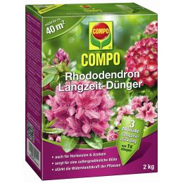 COMPO Rhododendron Langzeit-Dünger, 2 kg