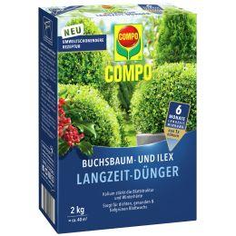 COMPO Buchsbaum- und Ilex Langzeit-Dünger, 2 kg