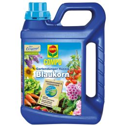COMPO Gartendünger Blaukorn NovaTec flüssig, 2,5 Liter