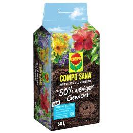 COMPO SANA Qualitäts-Blumenerde ca. 50% weniger Gewicht, 40l