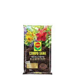 COMPO SANA Qualitäts-Blumenerde, 10 Liter
