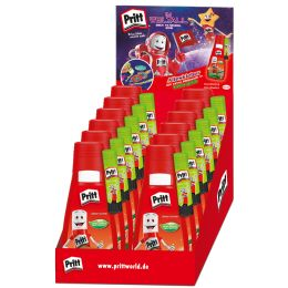 Pritt Alleskleber + GRATIS Neon-Klebestift, 12er Display