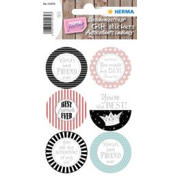 HERMA Geschenke-Sticker HOME You Are The Best