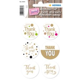 HERMA Geschenkesticker HOME Thank You