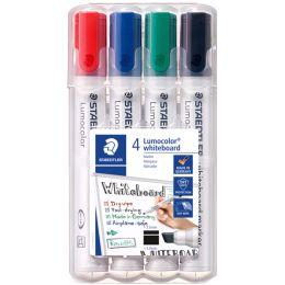 STAEDTLER Lumocolor Whiteboard-Marker 351B, 4er Etui