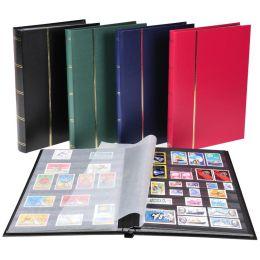 EXACOMPTA Briefmarkenalbum, 225 x 305 mm, schwarz, 16 Seiten