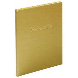 EXACOMPTA Gästebuch Livre dOr, 270 x 220 mm, gold