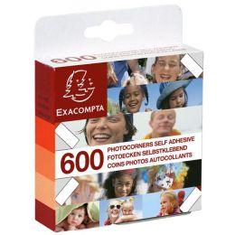 EXACOMPTA Foto-Ecken, transparent, selbstklebend