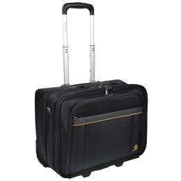 EXACOMPTA Notebook-Trolley EXATROLLEY, Polyester, schwarz