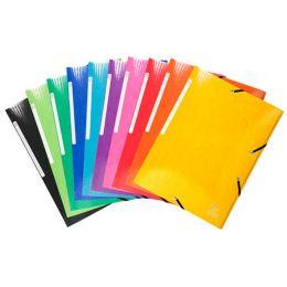 EXACOMPTA Eckspannermappe Iderama, A4, Karton, gelb