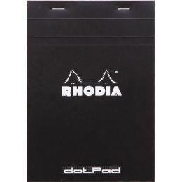 RHODIA Notizblock dotPad, DIN A5, gepunktet, schwarz