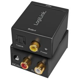 LogiLink Audio Konverter, Analog auf Digital, SPDIF/Koaxial