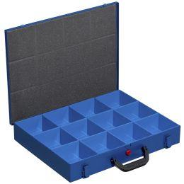 allit Metall-Kleinteilekoffer EuroPlus Pro M 44H-12, blau
