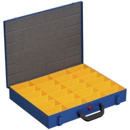 allit Metall-Kleinteilekoffer EuroPlus Pro M 44H-24, blau