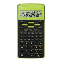 SHARP Schulrechner EL-531 TH-GR, Batteriebetrieb, grün