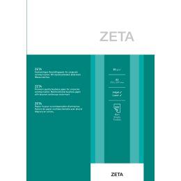 ZANDERS ZETA Hartpostpapier, DIN A4, 80 g/qm, naturweiß
