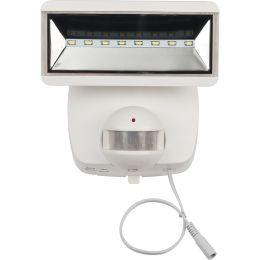 brennenstuhl Solar LED-Wandleuchte SOL 800 plus, IP 44, weiß