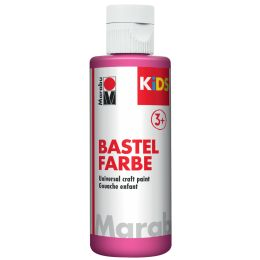 Marabu KiDS Bastelfarbe, 80 ml, magenta 014