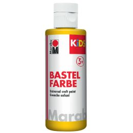 Marabu KiDS Bastelfarbe, 80 ml, gelb 019