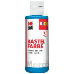 Marabu KiDS Bastelfarbe, 80 ml, azurblau 095