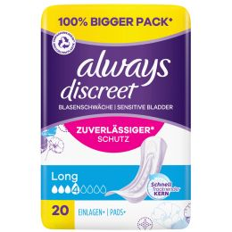always discreet Inkontinenz-Einlage Long 10