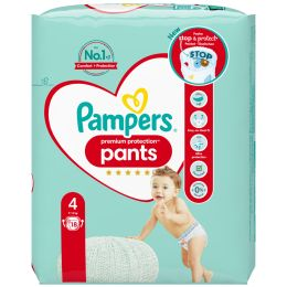 Pampers Windeln Premium Protection Pants Größe 4 Maxi