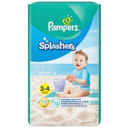 Pampers Schwimmwindeln Splashers Größe 3 - 4, Tragepack
