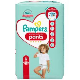 Pampers Windeln Premium Protection Pants Größe 6 Extra Large