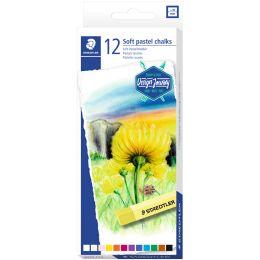STAEDTLER Soft-Pastellkreide Design Journey, 12er Kartonetui