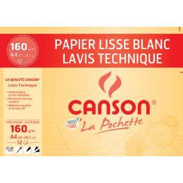 CANSON technisches Zeichenpapier, 240 x 320 mm, 200 g/qm