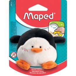 Maped Plüschtier-Tafelschwamm Pinguin, schwarz/weiß