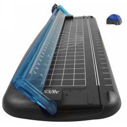 WESTCOTT Rollen-Schneidemaschine, DIN A4, schwarz/blau