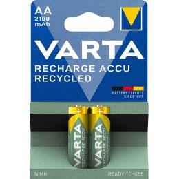 VARTA NiMH Akku RECHARGE ACCU Recycled, Mignon AA, 2100mAh