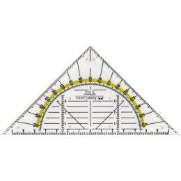 FABER-CASTELL Geodreieck BK 1 klein, ohne Griff