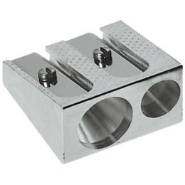 FABER-CASTELL Doppel-Spitzer aus Metall, silber