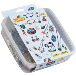 Hama Bügelperlen mini + Stiftplatten Schmuck, in Box